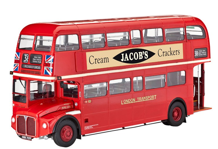 Revell London Bus 1:24 07651 784311792570
